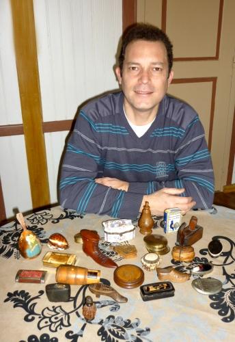 collectionneur,objets,passion,tabatières